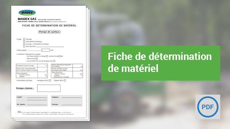 Catalogue Madex Solutions en PDF