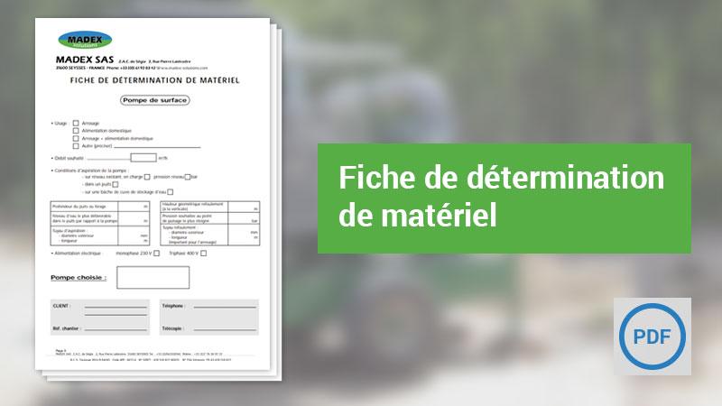 Catalogue Madex Solutions en PDF